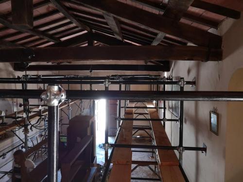 Cassino / 11 agosto 2018 Messa in sicurezza della Chiesa di S. Lorenzo Martire